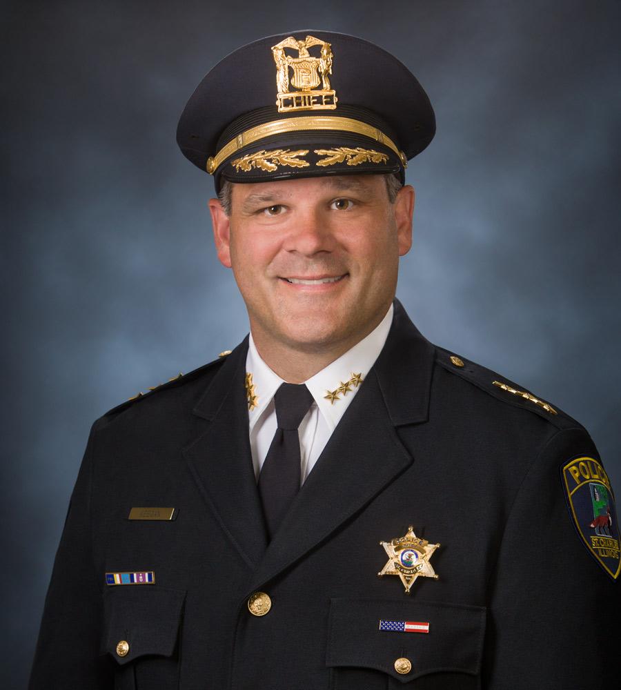 St. Charles Police Chief James Keegan